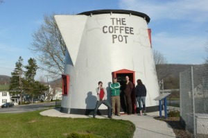 the coffeepot