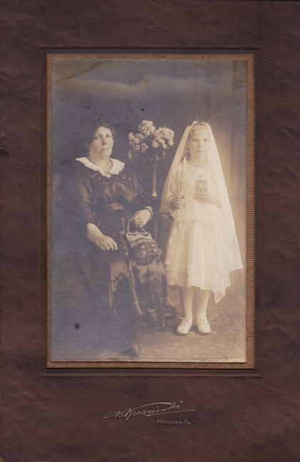 some girls get flowers - jeff gives me haunting old photos.