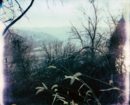 Somewhere off the main road: A tiny view of the Mon Valley.
