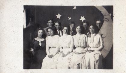 Group portrait, 1890s.