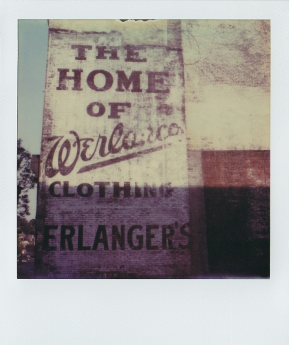 Ghost sign, E. Liverpool